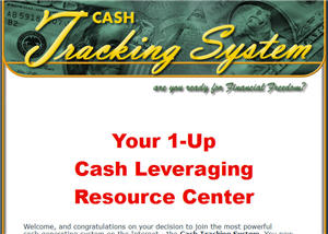 Cash Tracking System image