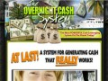 The Overnight Cash System logo